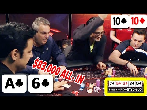 $83,000 BLUFF v. TOP PRO Antonio Esfandiari #TBT   Guest Host DOUG POLK