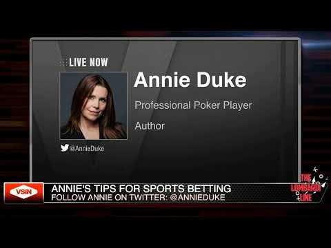 Annie Duke, professional poker player discusses how she makes bets based on the base rates