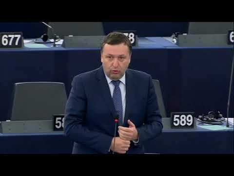 Antanas Guoga | Tony G on blockchain at the European Parliament