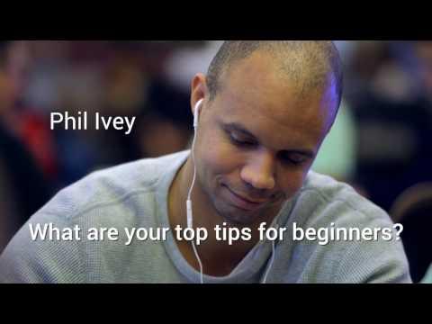 Beginners' poker tips from Phil Ivey, Dan Cates and Dan Colman – Paul Phua Poker