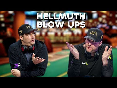 Best Phil Hellmuth Poker Bad Beats & Blow Up Moments!