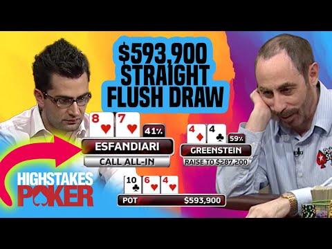 Can Antonio Esfandiari Get Lucky Against Barry Greenstein? | High Stakes Poker