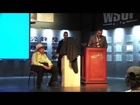 Doyle Brunson Tribute at 2013 WSOP Main Event Day 1B