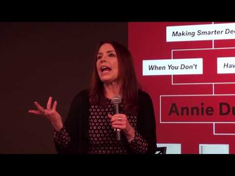 Full House: Annie Duke discusses her new book at MoMath