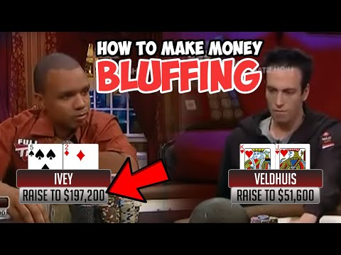 How to Bluff In Poker – Start Making Money off your Bluffs