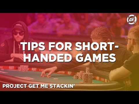 How To Play Shorthanded Poker Games