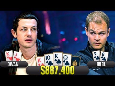Tom Dwan's UNBELIEVABLE Play! | $887,400 Poker Pot