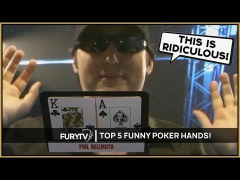 TOP 5 FUNNIEST POKER HANDS & RANTS!